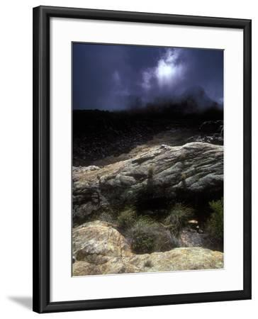 Stormy Sunset in the Cederberg Wilderness Area, South Africa-Keith Ladzinski-Framed Photographic Print