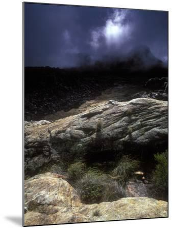 Stormy Sunset in the Cederberg Wilderness Area, South Africa-Keith Ladzinski-Mounted Photographic Print