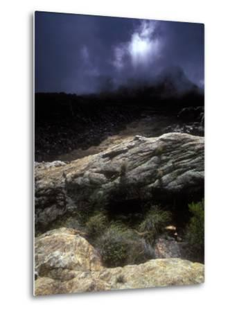 Stormy Sunset in the Cederberg Wilderness Area, South Africa-Keith Ladzinski-Metal Print