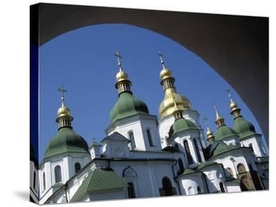 St Sophia Cathedral and Archway-Design Pics Inc-Stretched Canvas Print