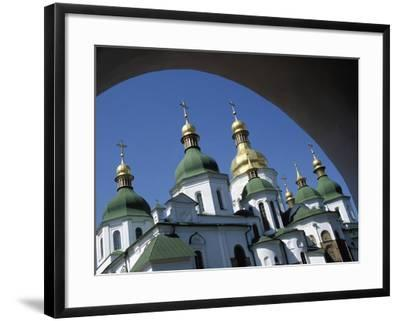St Sophia Cathedral and Archway-Design Pics Inc-Framed Photographic Print