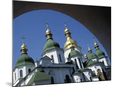 St Sophia Cathedral and Archway-Design Pics Inc-Mounted Photographic Print
