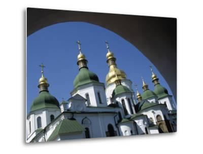 St Sophia Cathedral and Archway-Design Pics Inc-Metal Print