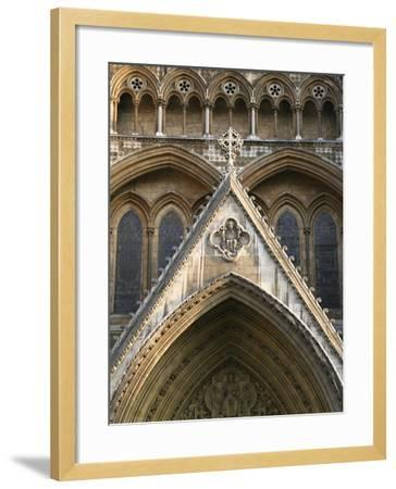Detail of Westminster Abbey-Design Pics Inc-Framed Photographic Print