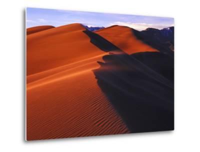 Dunes at Sunset, Great Sand Dunes National Park, Colorado-Keith Ladzinski-Metal Print