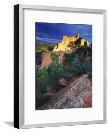 View of Keyhole Rock, Garden of the Gods, Colorado-Keith Ladzinski-Framed Photographic Print