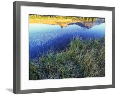 Mountain Reflection, San Juan Mountains, Colorado-Keith Ladzinski-Framed Photographic Print