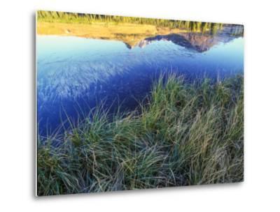 Mountain Reflection, San Juan Mountains, Colorado-Keith Ladzinski-Metal Print