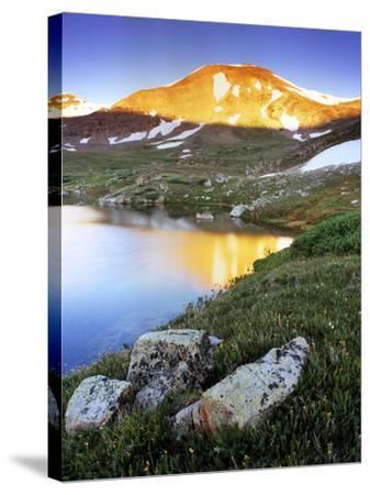 Mountain Reflection Near Mosquito Pass, Colorado-Keith Ladzinski-Stretched Canvas Print