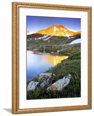 Mountain Reflection Near Mosquito Pass, Colorado-Keith Ladzinski-Framed Photographic Print
