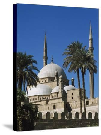 Mohammed Ali Mosque in Citadel of Cairo-Design Pics Inc-Stretched Canvas Print