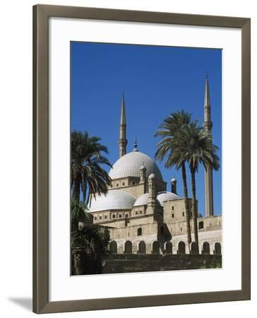 Mohammed Ali Mosque in Citadel of Cairo-Design Pics Inc-Framed Photographic Print