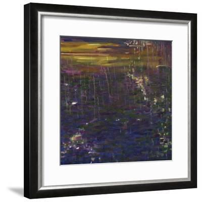 Giverny II, 2014-Helen White-Framed Premium Giclee Print
