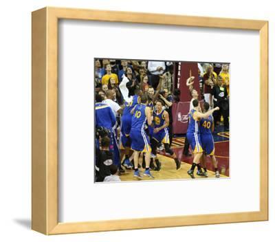 2015 NBA Finals- Game Six-Joe Murphy-Framed Photo