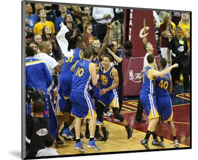 2015 NBA Finals- Game Six-Joe Murphy-Mounted Photo