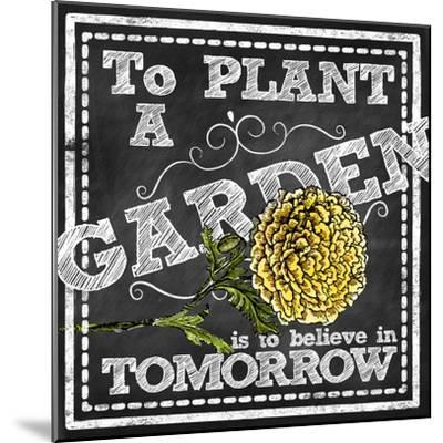 Planting a Garden--Mounted Giclee Print
