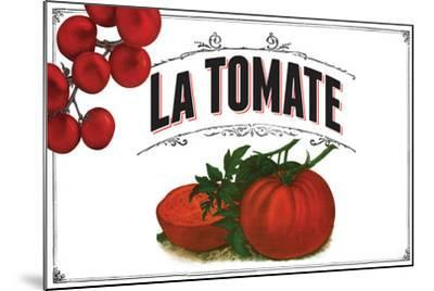 French Produce Tomato--Mounted Giclee Print