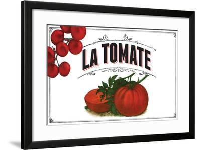 French Produce Tomato--Framed Giclee Print