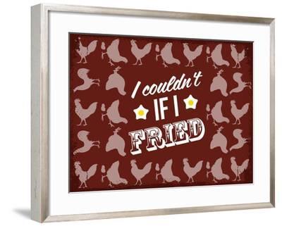 Fried Love--Framed Giclee Print