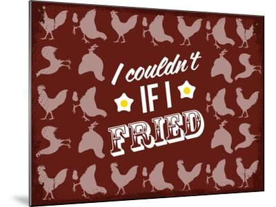 Fried Love--Mounted Giclee Print