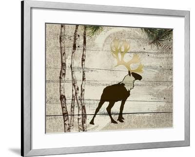 Woodland  Elk--Framed Giclee Print