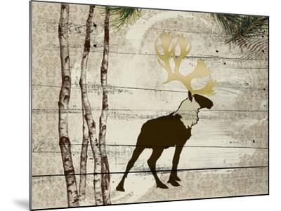 Woodland  Elk--Mounted Giclee Print