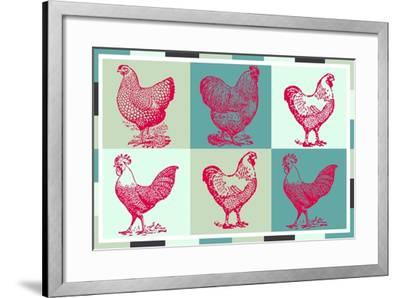 Chicken Pop 3--Framed Giclee Print