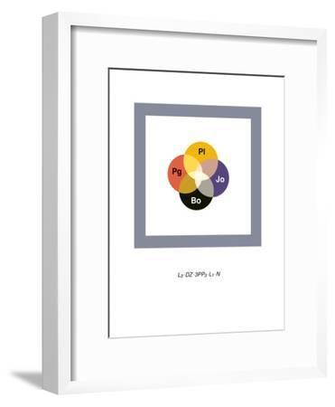 Led Zeppelin-Christophe Gowans-Framed Premium Giclee Print
