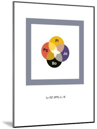Led Zeppelin-Christophe Gowans-Mounted Premium Giclee Print