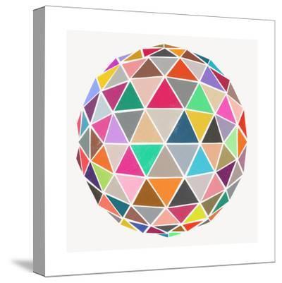 Geodesic-Garima Dhawan-Stretched Canvas Print