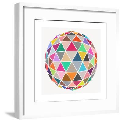 Geodesic-Garima Dhawan-Framed Giclee Print