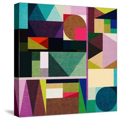 Colourful Day-Fimbis-Stretched Canvas Print
