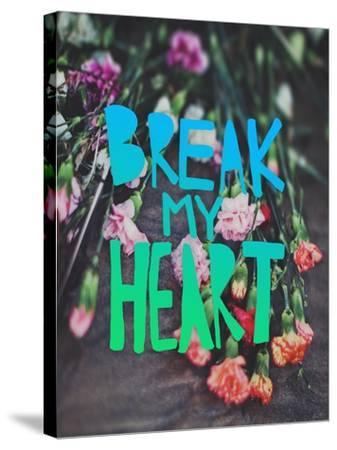 Break My Heart-Leah Flores-Stretched Canvas Print
