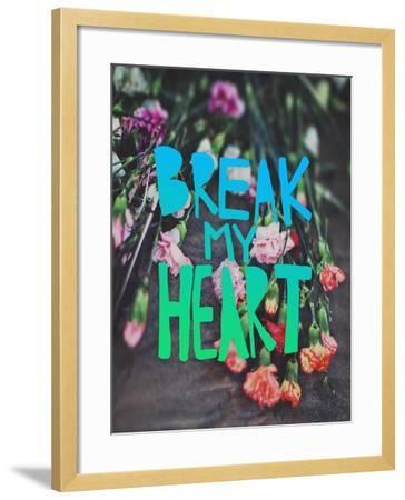 Break My Heart-Leah Flores-Framed Giclee Print