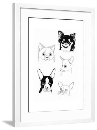 Cutie Poochie-Jennifer Camilleri-Framed Giclee Print