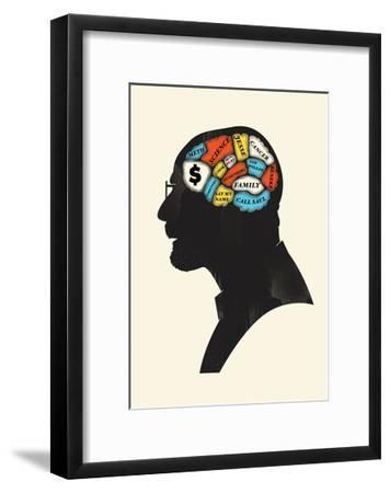 Heisenberg-Chris Wharton-Framed Giclee Print