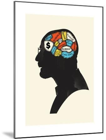 Heisenberg-Chris Wharton-Mounted Giclee Print