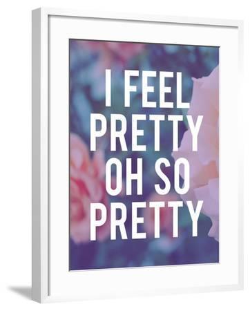 So Pretty-Leah Flores-Framed Giclee Print