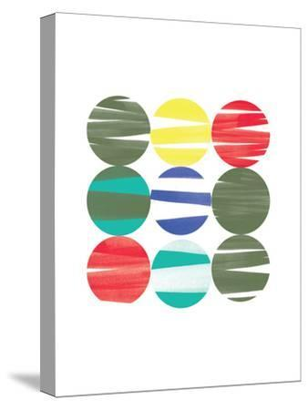 Marble Candy-Catherine Aguilar-Stretched Canvas Print