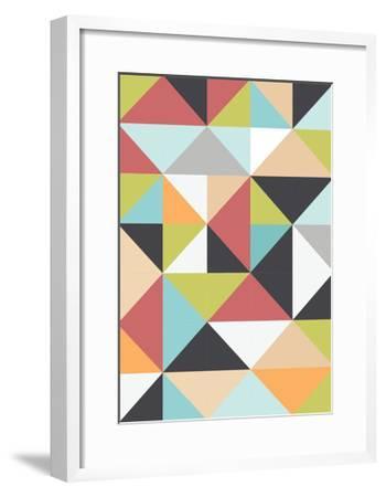 Geometric Winter-Moha London-Framed Giclee Print