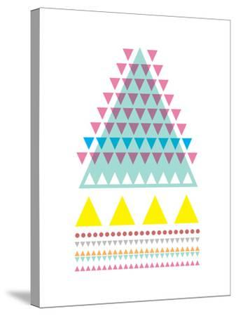 Triangle Peak-Moha London-Stretched Canvas Print
