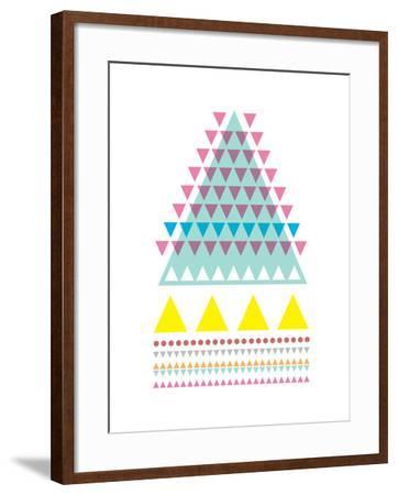 Triangle Peak-Moha London-Framed Giclee Print