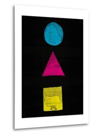 Head Shapes-Dale Edwin Murray-Metal Print