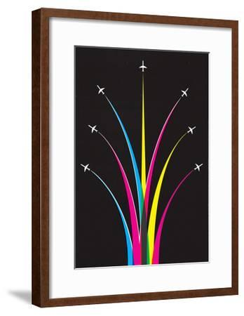 Planes-Dale Edwin Murray-Framed Giclee Print