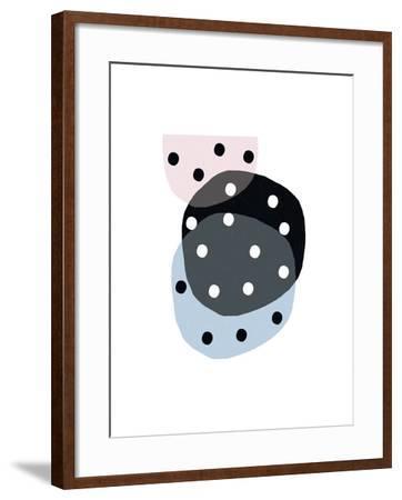 Dotty Circles-Seventy Tree-Framed Giclee Print
