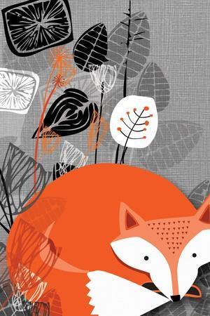 Fox-Rocket 68-Stretched Canvas Print