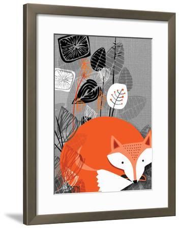 Fox-Rocket 68-Framed Giclee Print