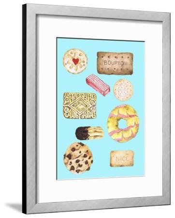 Biscuits-Alexandra Rolfe-Framed Giclee Print