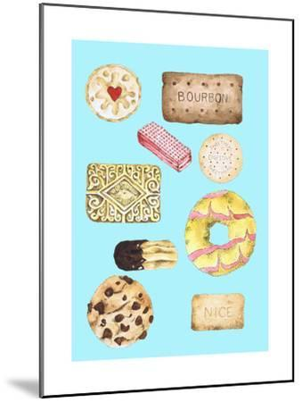 Biscuits-Alexandra Rolfe-Mounted Giclee Print