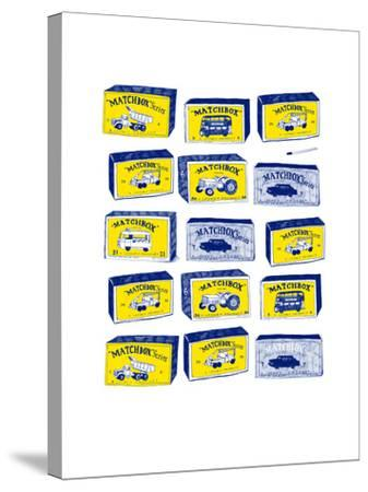 Lesney Matchbox Collection-Hanna Melin-Stretched Canvas Print